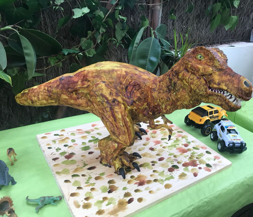 Pastel Dinosaurio