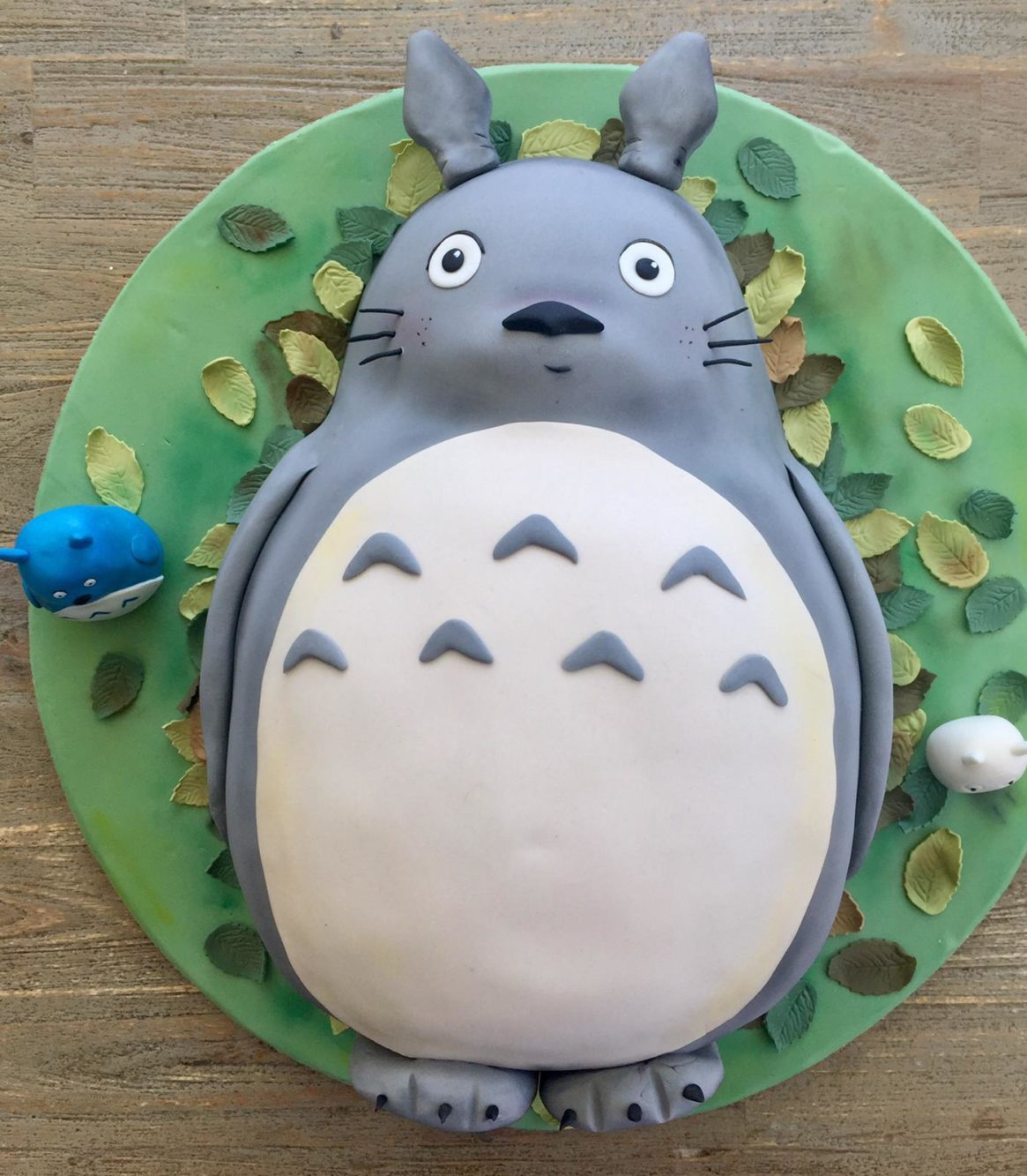 Pastel de Totoro