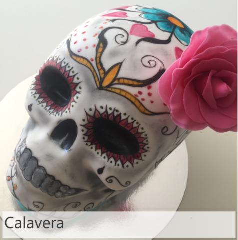 Pastel De Calavera