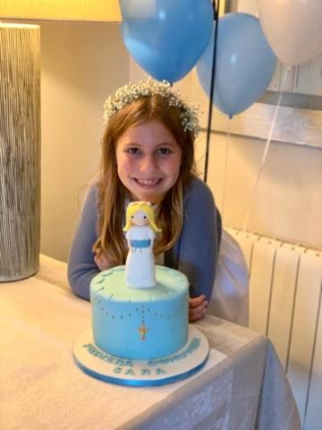 Pastel de cumpleaños Sara