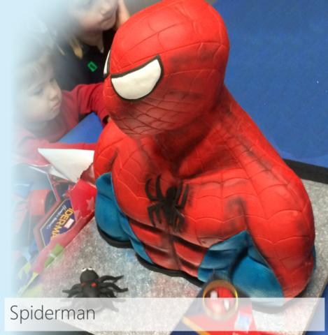 Pastel Personalizado De Spiderman