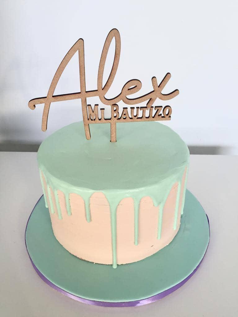 Pastel Bautizo Alex