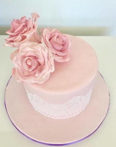 Pastel temática floral